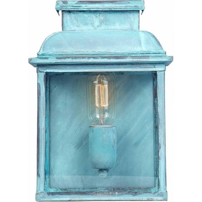 Elstead Lighting Old Bailey Wall Lantern - Verdi