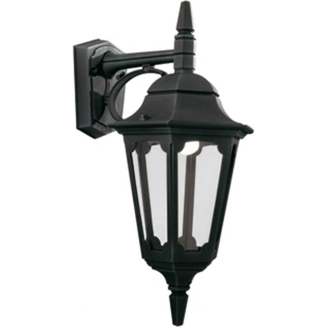 Elstead Lighting Parish Down Wall Lantern - Black