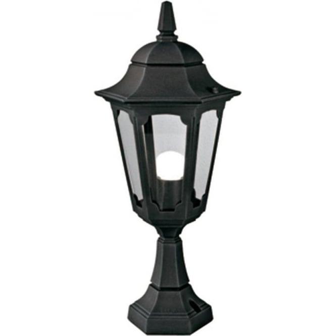 Elstead Lighting Parish Pedestal Lantern - Black