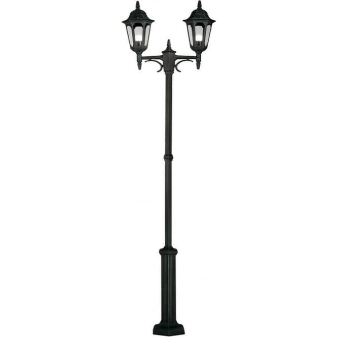 Elstead Lighting Parish Twin Post - Black