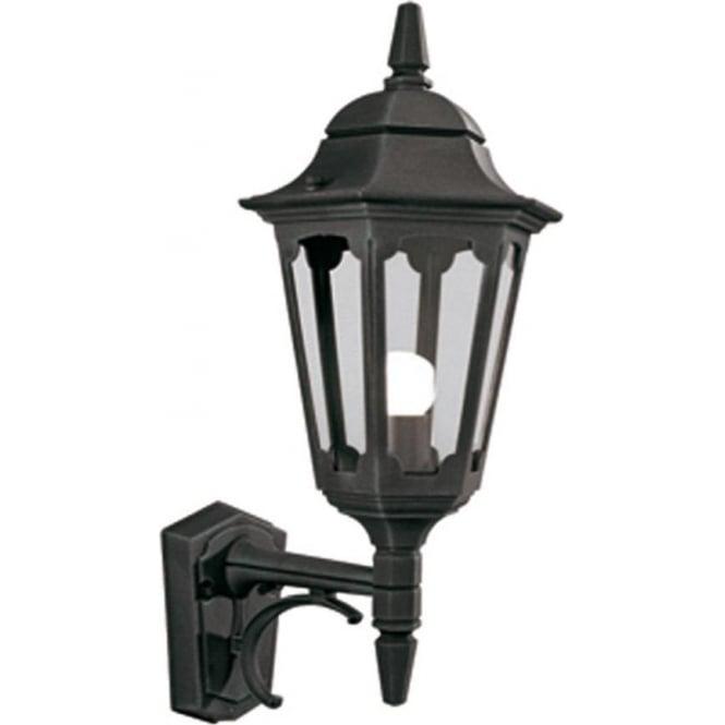Elstead Lighting Parish Up Wall Lantern - Black