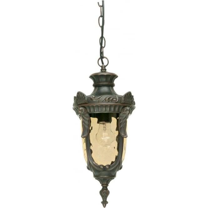 Elstead Lighting Philadelphia Chain Lantern Medium - Old Bronze