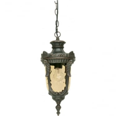 Philadelphia Chain Lantern Medium - Old Bronze