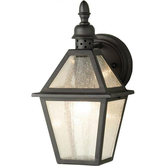 Elstead Lighting Polruan Wall Lantern - Black