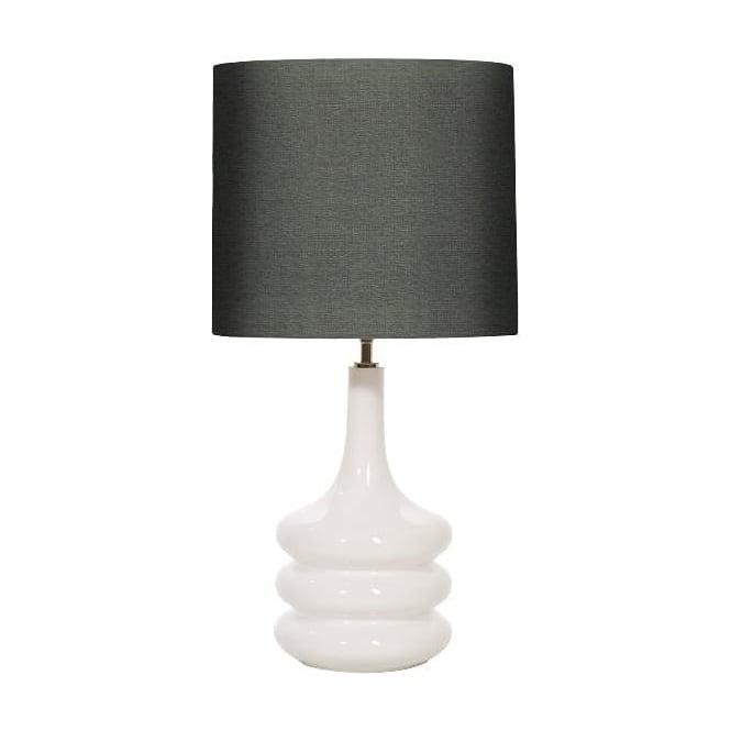Elstead Lighting Pop White Table Lamp - Base only