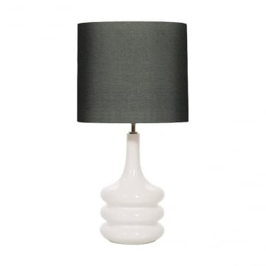 Elstead lighting pop white table lamp base only