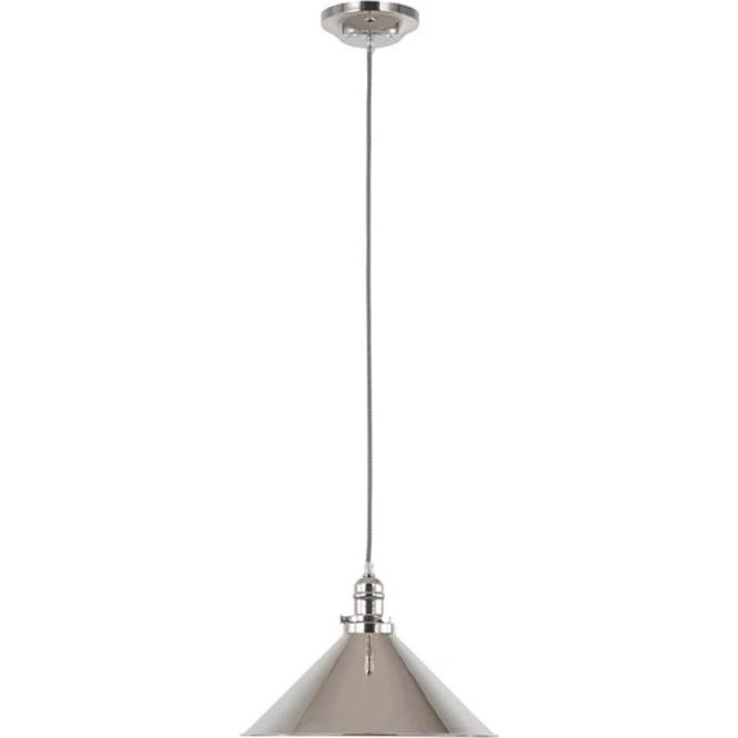Elstead Lighting Provence Pendant Polished Nickel