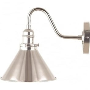Provence Single Wall Light Polished Nickel
