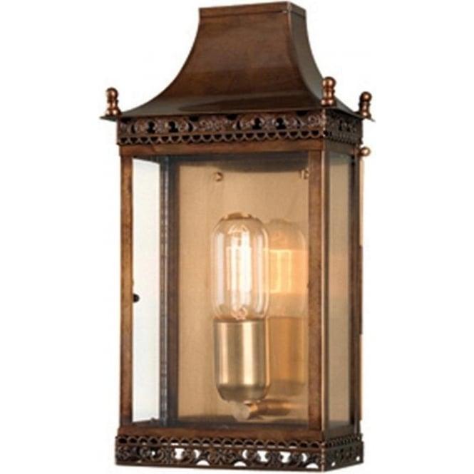 Elstead Lighting Regents Park Wall Lantern - Brass