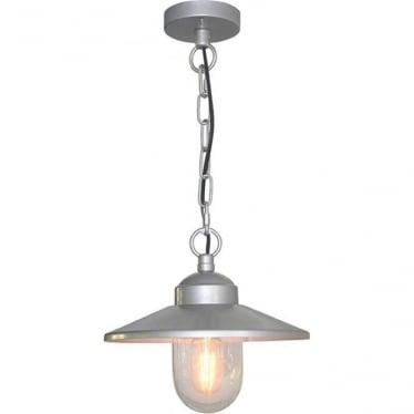 Scandinavian Klampenborg chain lantern - Silver