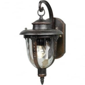 St Louis Wall Lantern Small - Weathered Bronze