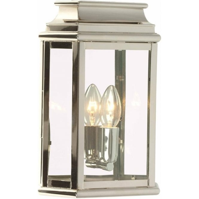 Elstead Lighting St Martins Wall Lantern - Polished Nickel