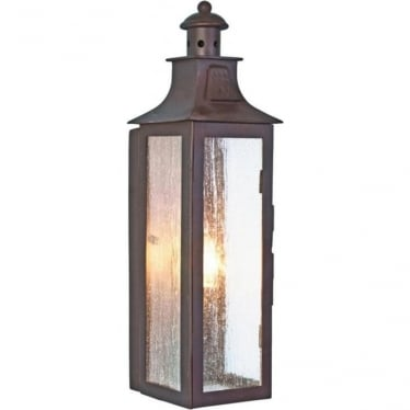 Stow Wall Lantern - Old Bronze
