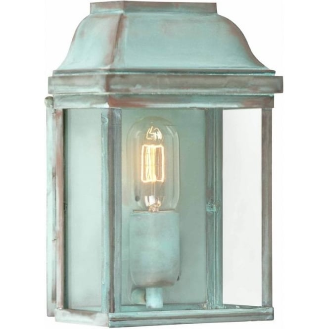 Elstead Lighting Victoria Wall Lantern - Verdi