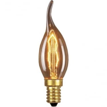 Vintage Industrial Lamp - Candle Tip 60W E14