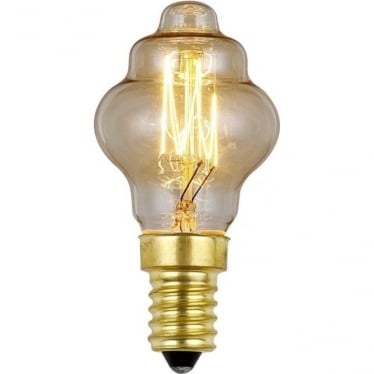 Vintage Industrial Lamp - Edwardian Filament style 25W E14