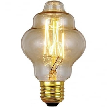 Vintage Industrial Lamp - Edwardian Filament Style 60W E27