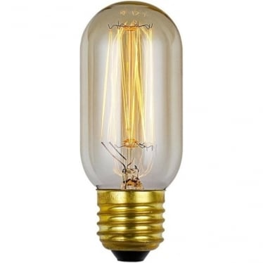 Vintage Industrial Lamp - Filament Tube 30W E27