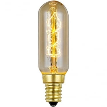 Vintage Industrial Lamp - Filament Tube 40W E14