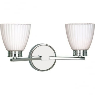 Wallingford 2 light Wall Fitting Polished Chrome