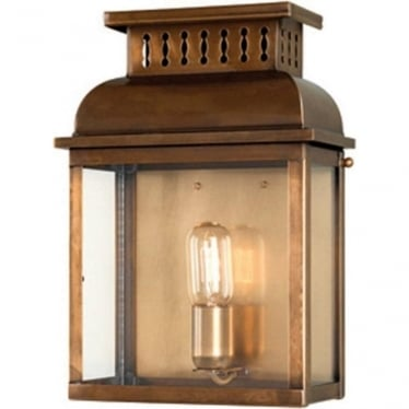 Westminster Wall Lantern - Brass