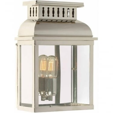 Westminster Wall Lantern - Polished Nickel