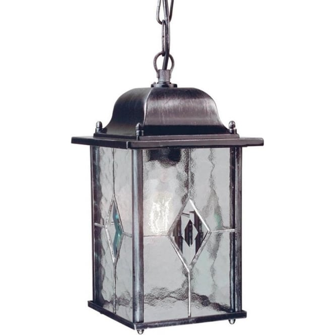 Elstead Lighting Wexford Chain Lantern - Black
