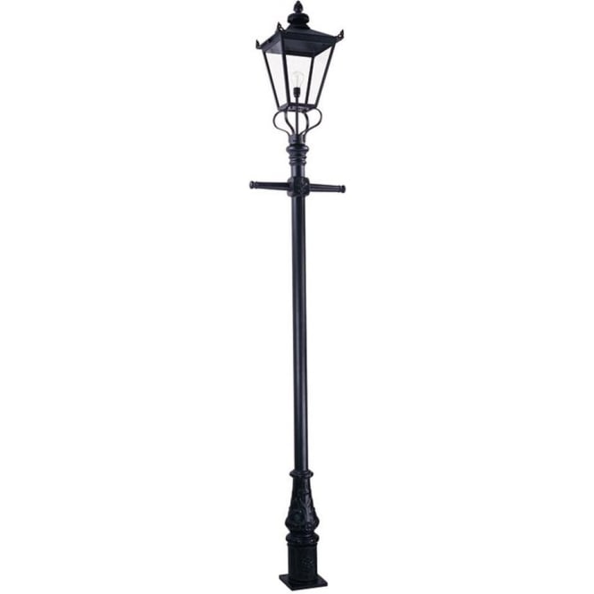 Lamps And Lighting >> Wilmslow Lamp Post Black
