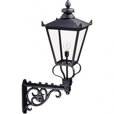 Wilmslow Wall Lantern - Black