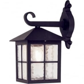 Winchester Down Wall Lantern - Black