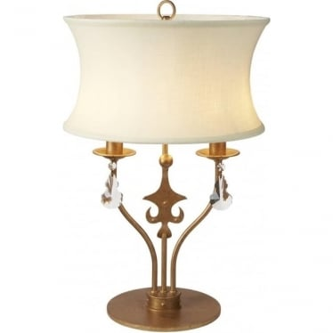 Windsor Table Lamp Gold Patina