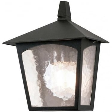 York Flush Half Lantern BL15 Black