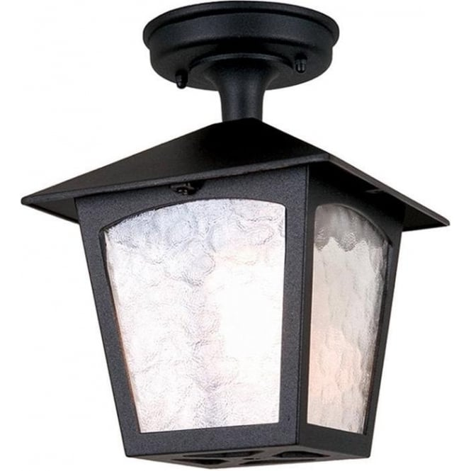 Elstead Lighting York Rigid Tube Lantern - Black