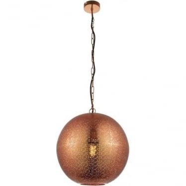 Abu single light pendant - Copper