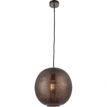 Abu single light pendant - Pewter