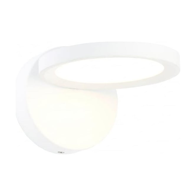 Endon Lighting Alsafi LED single light wall fitting - White & frosted acrylic