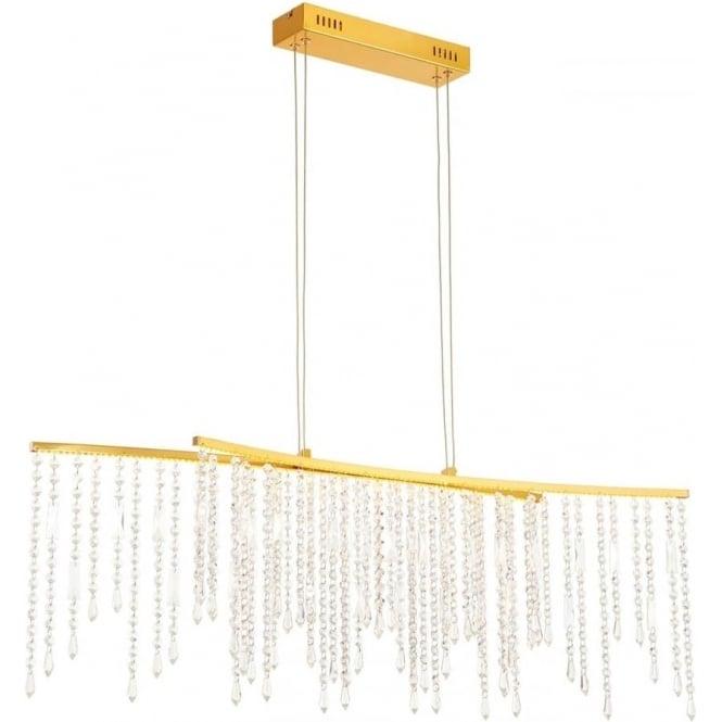 Endon Lighting Amelia bar pendant - Satin gold