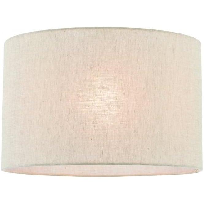 Endon Lighting Anita 12 inch shade - Natural linen