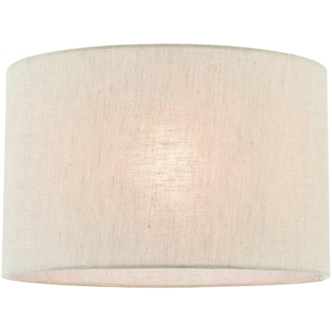 Endon Lighting Anita 14 inch shade - Natural linen