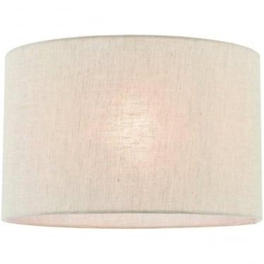 Anita 14 inch shade - Natural linen