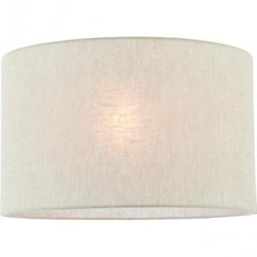 Anita 16 inch shade - Natural linen
