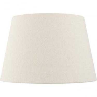 """Cici shade 8"""" - Ivory Faux Linen"""
