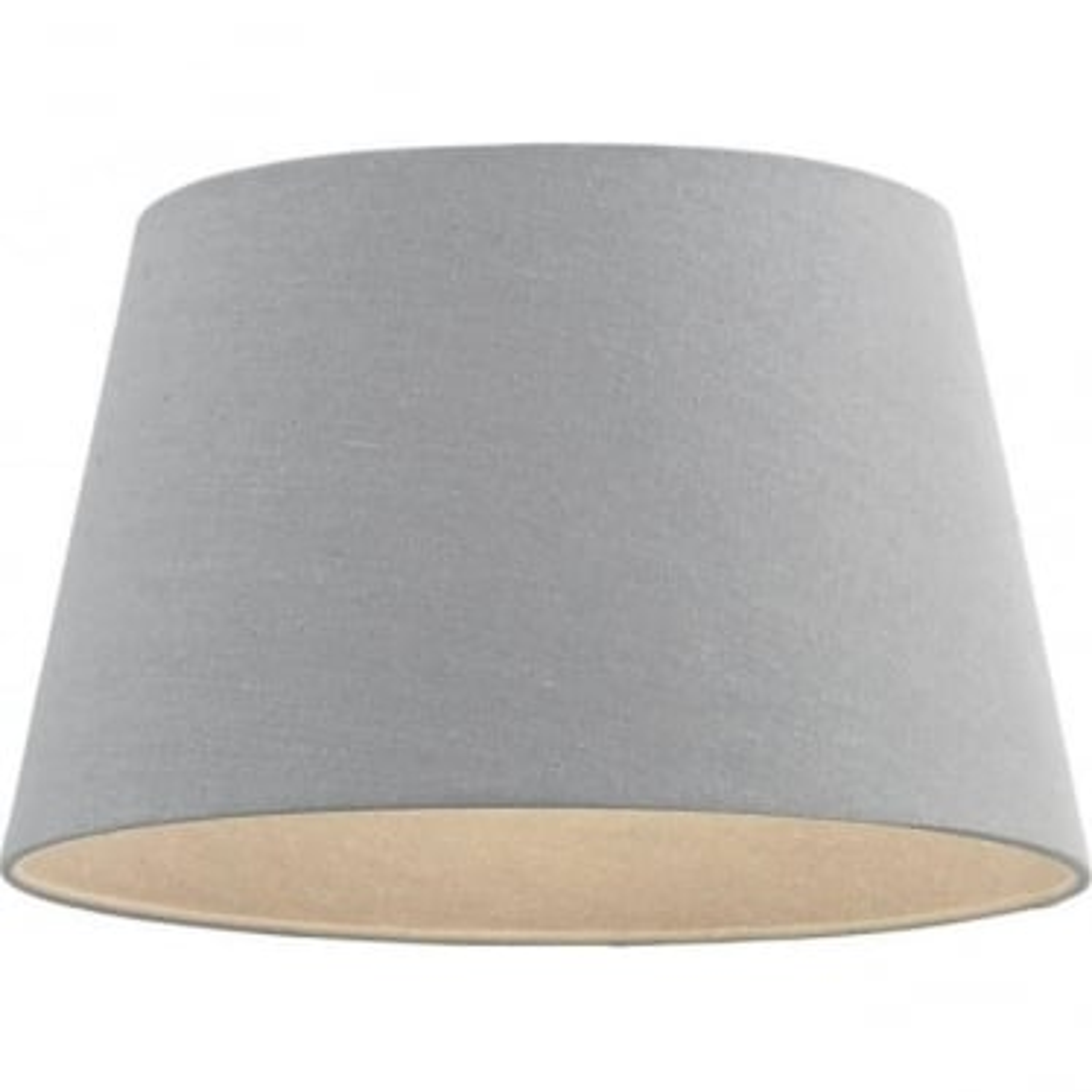 Cici shade - Grey Faux Linen