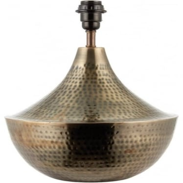 Gwendoline Table Lamp - Matt Antique Brass - base only