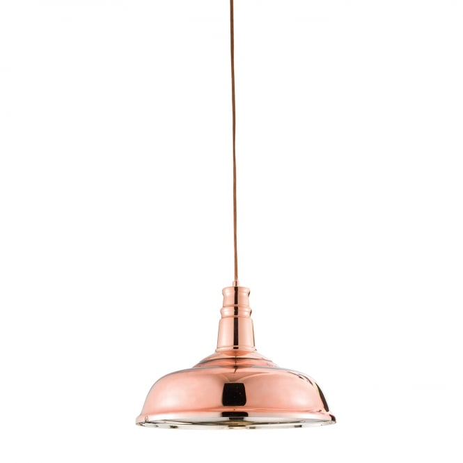 Endon Lighting Jackman 1 light pendant