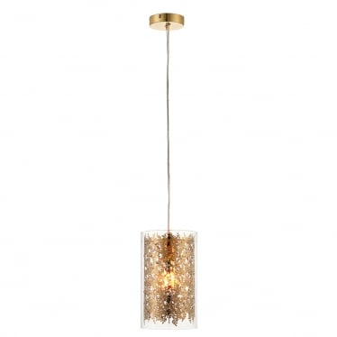 Lacy 1 light pendant