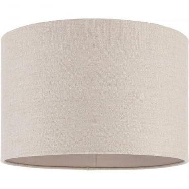 "Obi shade - Natural linen - 14""/350mm"