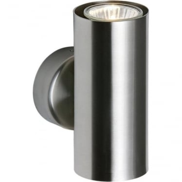Odi 2 light wall fitting -Satin Nickel Finish