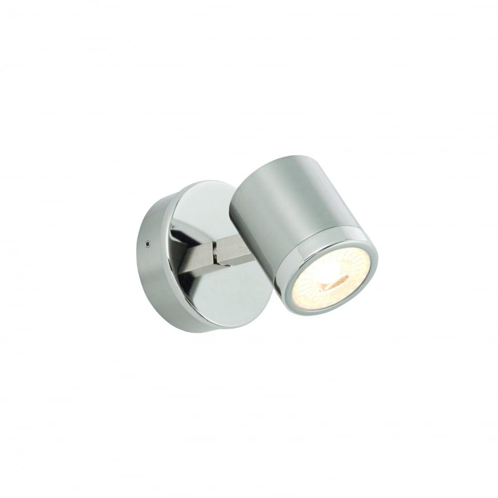endon lighting endon lighting oracle led single light wall fitting