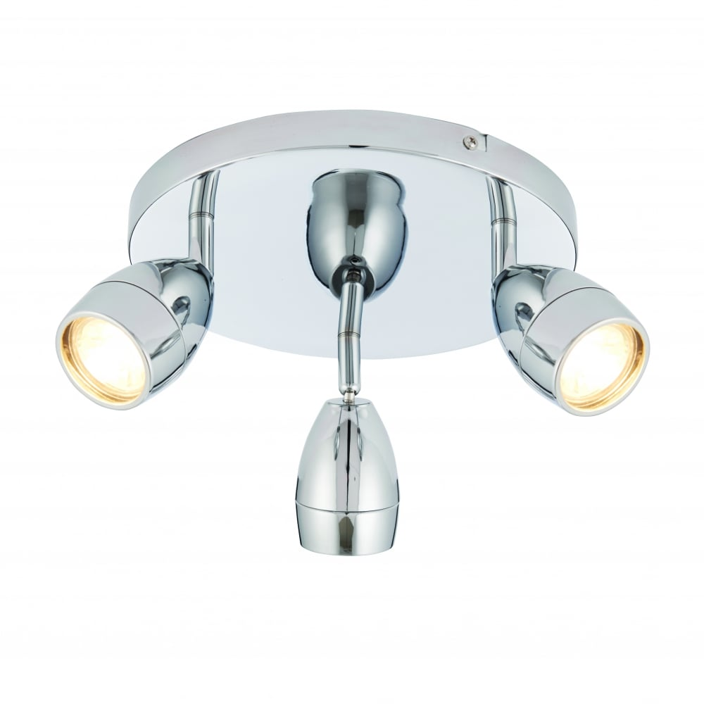 endon lighting endon lighting porto led 3 light round flush ceiling